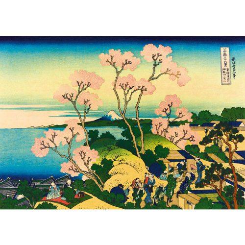 Art by Bluebird 1000 db-os puzzle - Katsushika Hokusai: Shinagawa on the Tokaido, 1832 - 60093