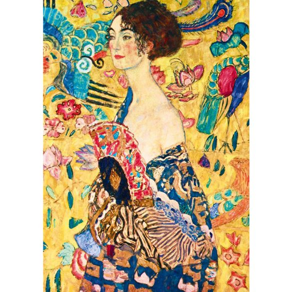 Art by Bluebird 1000 db-os puzzle - Gustave Klimt: Lady with Fan, 1918 - 60095