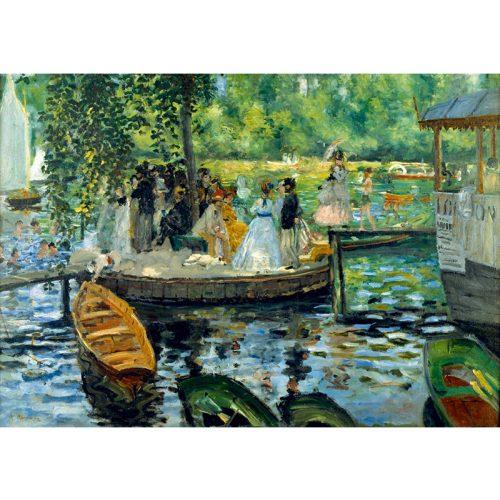 Art by Bluebird 1000 db-os puzzle - Renoir: La Grenouillère, 1869 - 60100