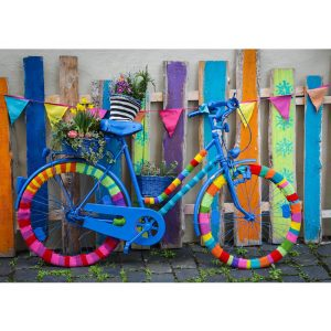 Bluebird 1000 db-os Puzzle - My Beautiful Colorful Bike - 70010