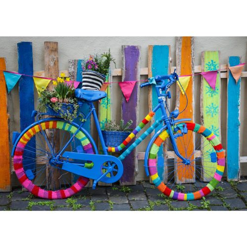 Bluebird 1000 db-os Puzzle - My Beautiful Colorful Bike - 70010