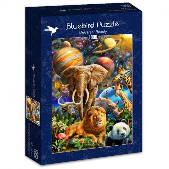 Bluebird 1000 db-os Puzzle - Universal Beauty - 70012