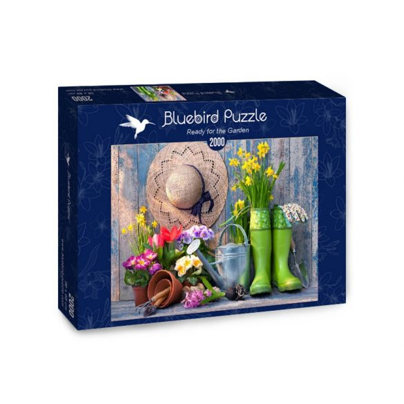 Bluebird 2000 db-os Puzzle - Ready for the Garden - 70031