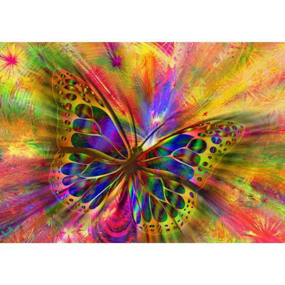 Bluebird 1500 db-os Puzzle - Colorful Butterfly - 70050