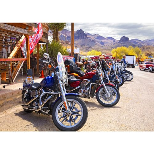 Bluebird 1000 db-os Puzzle - Rt 66 Fun Run Oatman Motorcycles 4-16 8377 - 70067