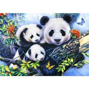 Bluebird 1000 db-os Puzzle - Panda Family - 70079