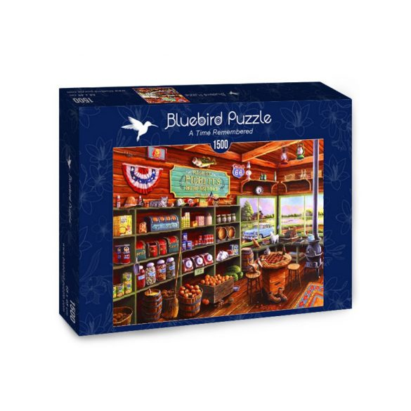 Bluebird 1500 db-os puzzle - A Time Remembered - 70099