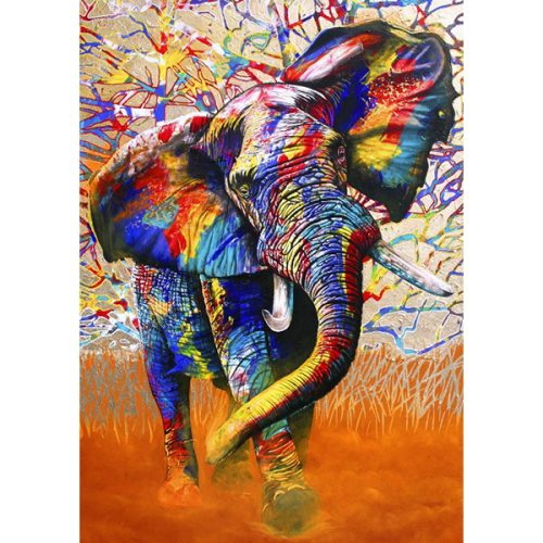 Bluebird 1500 db-os Puzzle - African Colours - 70101