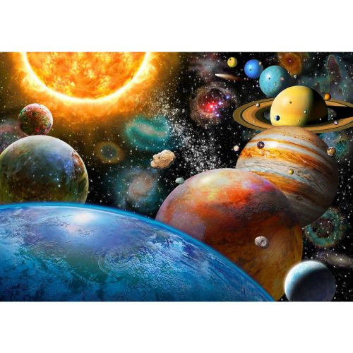 Bluebird 500 db-os Puzzle - Planets and Their Moons - 70110
