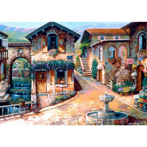 Bluebird 1000 db-os puzzle -The Fountain on the Square 70120