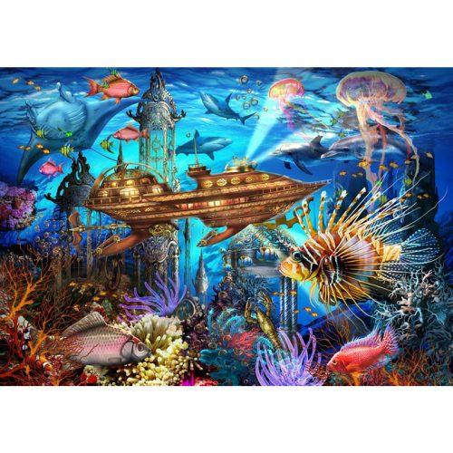 Bluebird 1000 db-os puzzle - Aqua City 70121