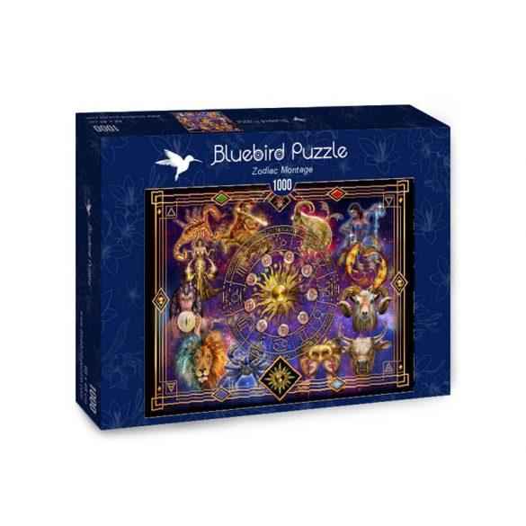 Bluebird 1000 db-os Puzzle - Zodiac Montage - 70123