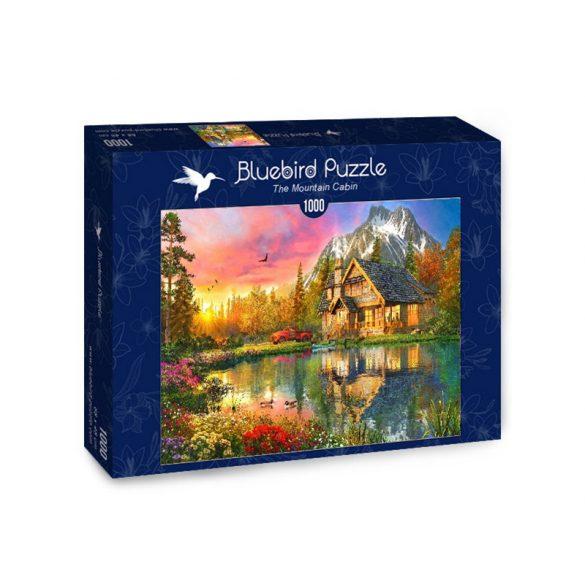 Bluebird 1000 db-os Puzzle - The Mountain Cabin - 70164