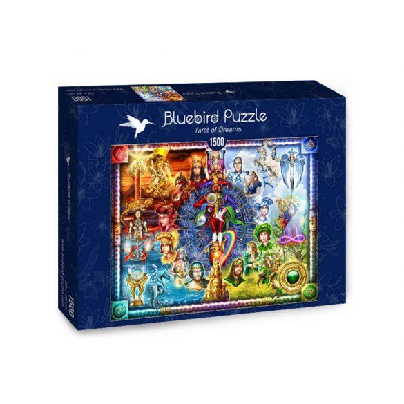 Bluebird Puzzle 1500 db-os puzzle - Tarot of Dreams 70178