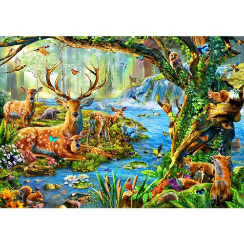 Bluebird 1500 db-os puzzle - Forest Life 70185