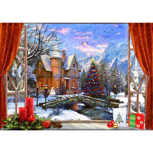 Bluebird 1500 db-os Puzzle - Christmas Mountain View - 70190