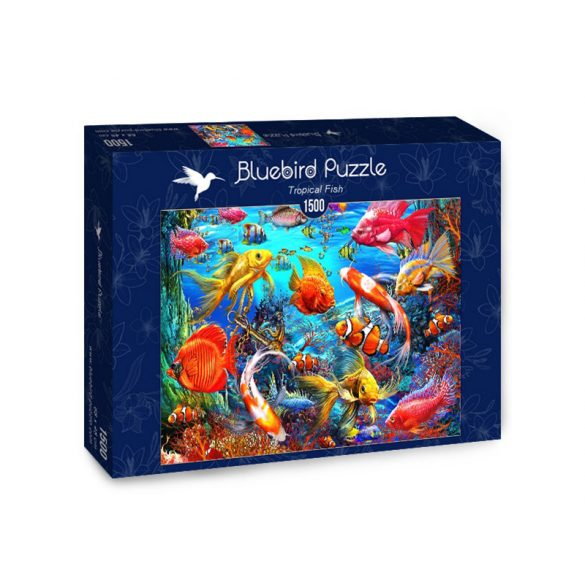 Bluebird 1500 db-os Puzzle - Tropical Fish - 70192
