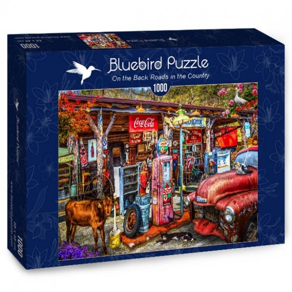 Bluebird 1000 db-os Puzzle - On the Back Roads in the Country - 70209