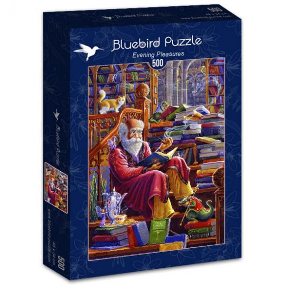 Bluebird 500 db-os Puzzle - Evening Pleasures - 70217