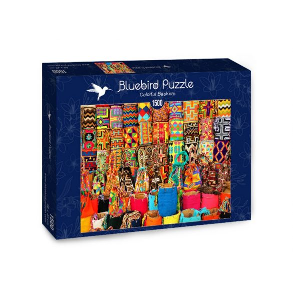 Bluebird 1500 db-os Puzzle - Colorful Baskets - 70223