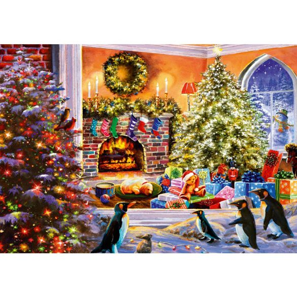 Bluebird 1000 db-os Puzzle - A Magical View to Christmas - 70228