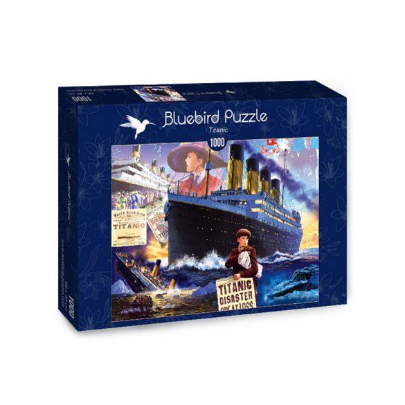 Bluebird 1000 db-os Puzzle - Titanic - 70231