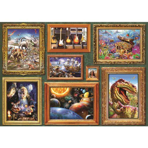 Bluebird 1000 db-os Puzzle - Boy's 8 Gallery - 70233
