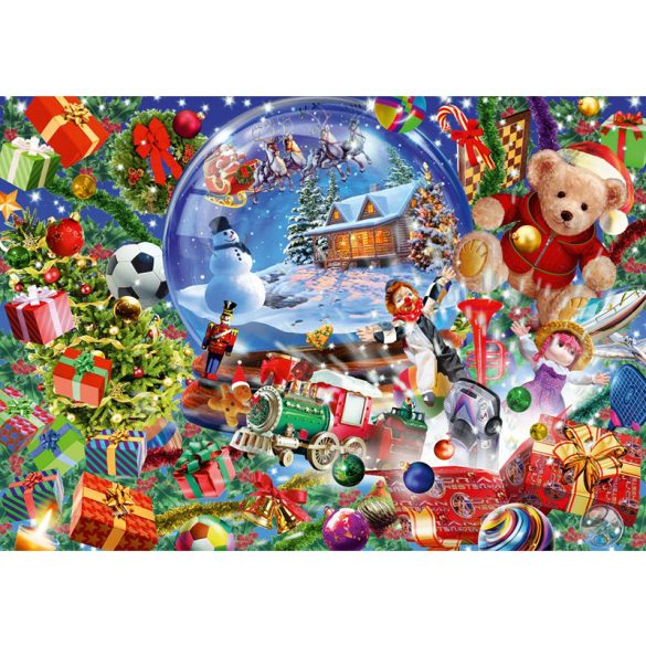 Bluebird 1000 db-os Puzzle - Christmas Globe - 70236