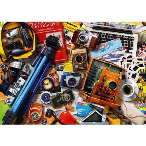 Bluebird 1000 db-os Puzzle - Retro Camera Tabletop - 70240