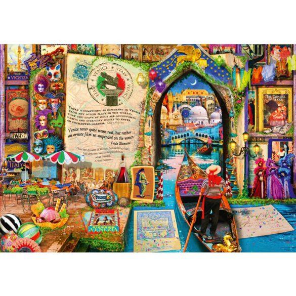 Bluebird 1000 db-os Puzzle - Life is an Open Book Venice - 70242