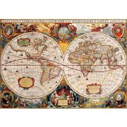 Bluebird 1000 db-os Puzzle - Antique World Map - 70246