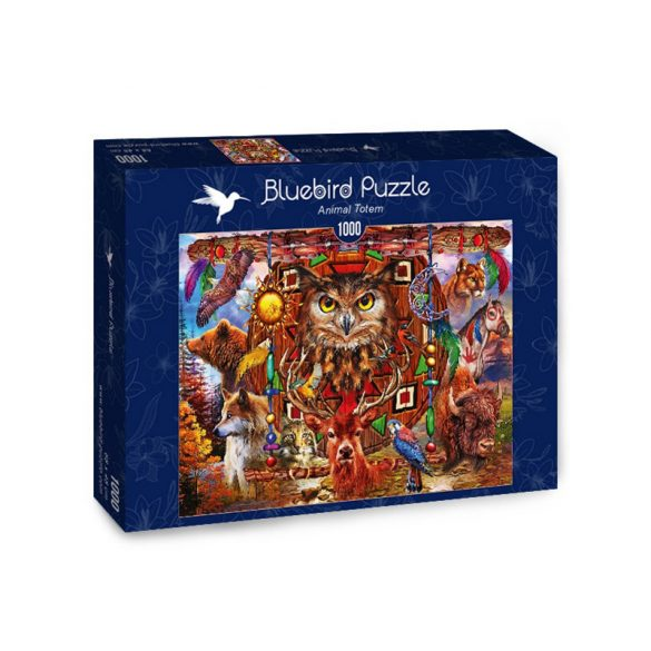 Bluebird 1000 db-os Puzzle - Animal Totem - 70247