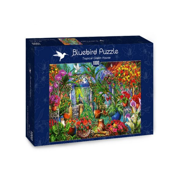Bluebird 1000 db-os Puzzle - Tropical Green House - 70248