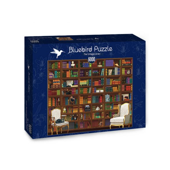 Bluebird 6000 db-os Puzzle - The Vintage Library - 70252