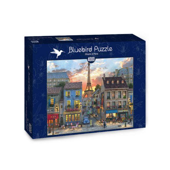 Bluebird 4000 db-os Puzzle - Streets of Paris - 70253