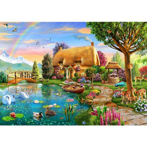 Bluebird 6000 db-os Puzzle - Lakeside Cottage - 70254
