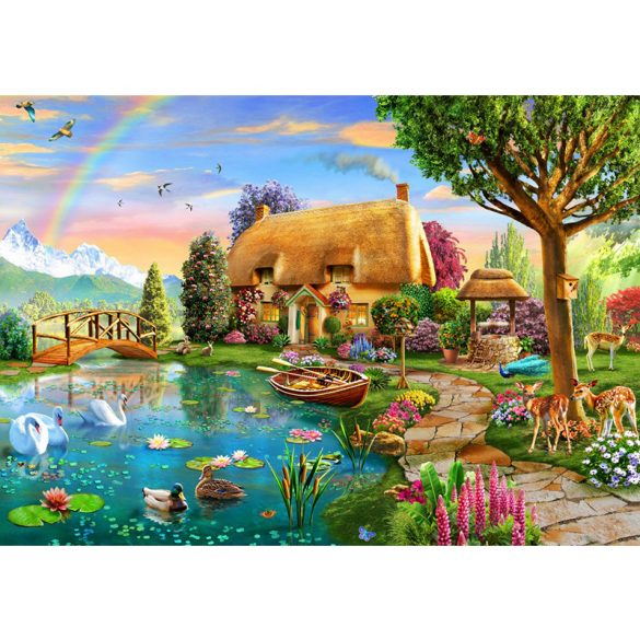 Bluebird 6000 db-os Puzzle - Lakeside Cottage - 70254