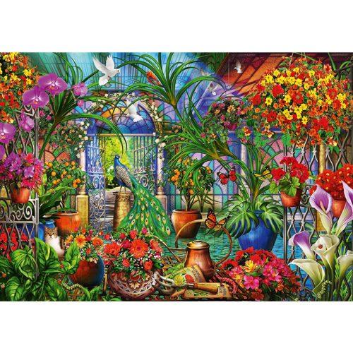 Bluebird 6000 db-os Puzzle - Tropical Green House - 70258