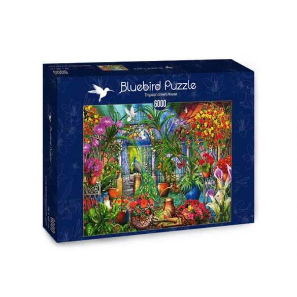 Bluebird 6000 db-os Puzzle - Tropical Green House - 70258
