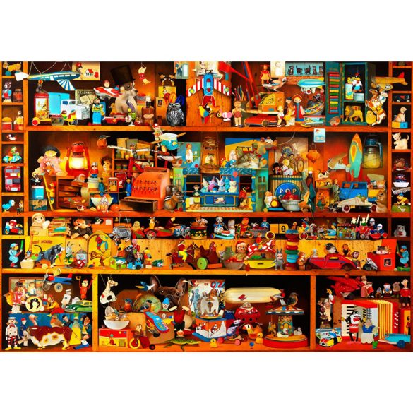 Bluebird 4000 db-os Puzzle - Toys Tale - 70260