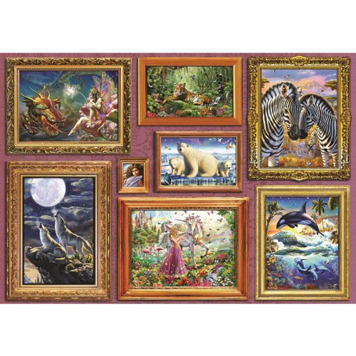 Bluebird 6000 db-os Puzzle - Girl's 8 Gallery - 70261