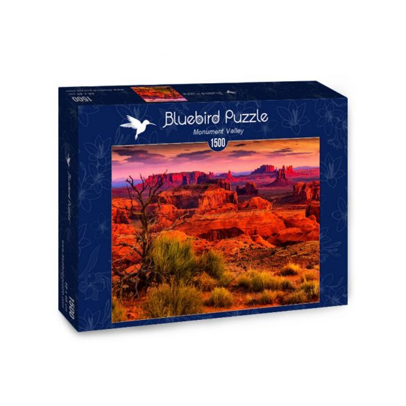 Bluebird 1500 db-os Puzzle - Monument Valley - 70266