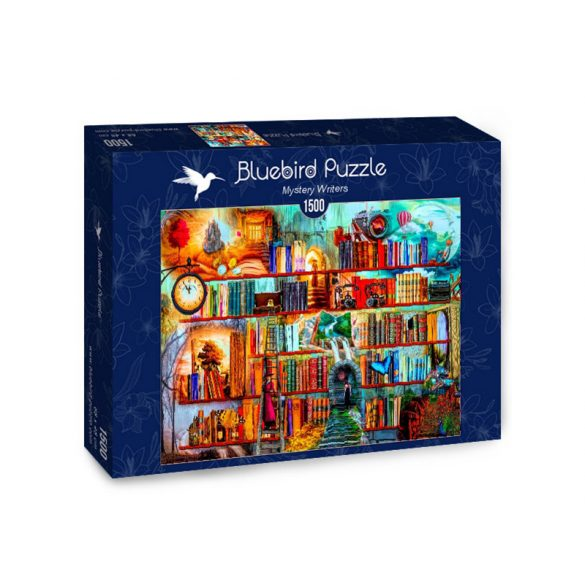 Bluebird 1500 db-os Puzzle - Mystery Writers - 70280