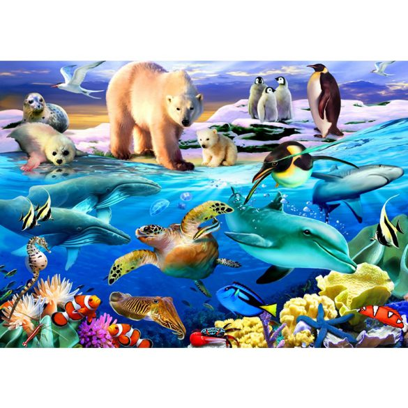 Bluebird 1000 db-os Puzzle - Oceans of Life - 70288