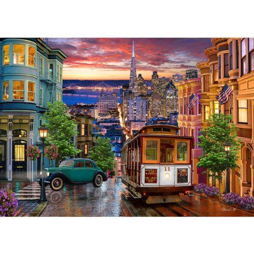 Bluebird 1000 db-os puzzle - San Francisco Trolley 70293