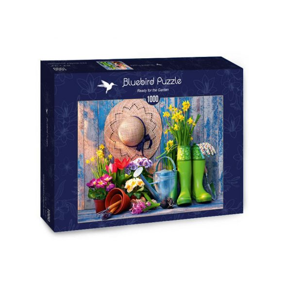 Bluebird 1000 db-os Puzzle - Ready for the Garden - 70299