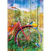 Bluebird 1000 db-os Puzzle - Bluebirds on a Bicycle - 70300