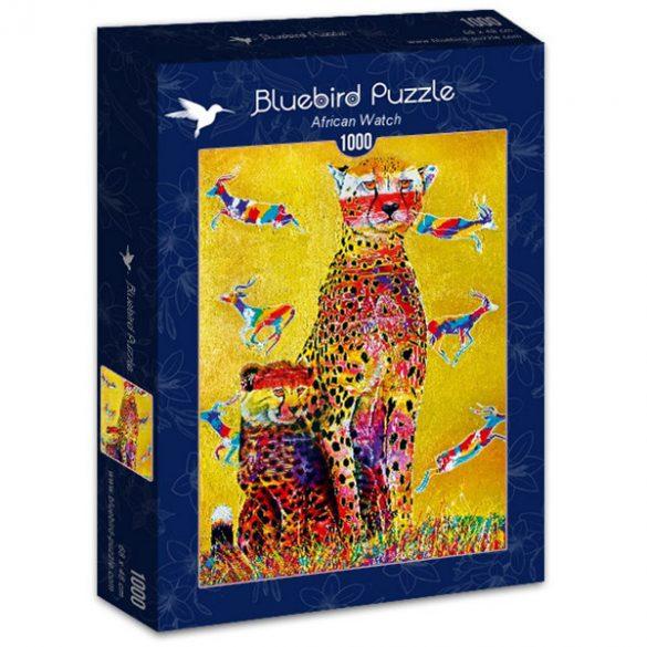 Bluebird 1000 db-os Puzzle - African Watch - 70301