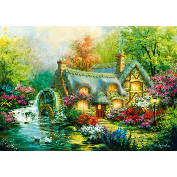 Bluebird 1000 db-os Puzzle - Country Retreat - 70303