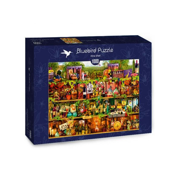 Bluebird 1000 db-os Puzzle - Wine Shelf - 70304